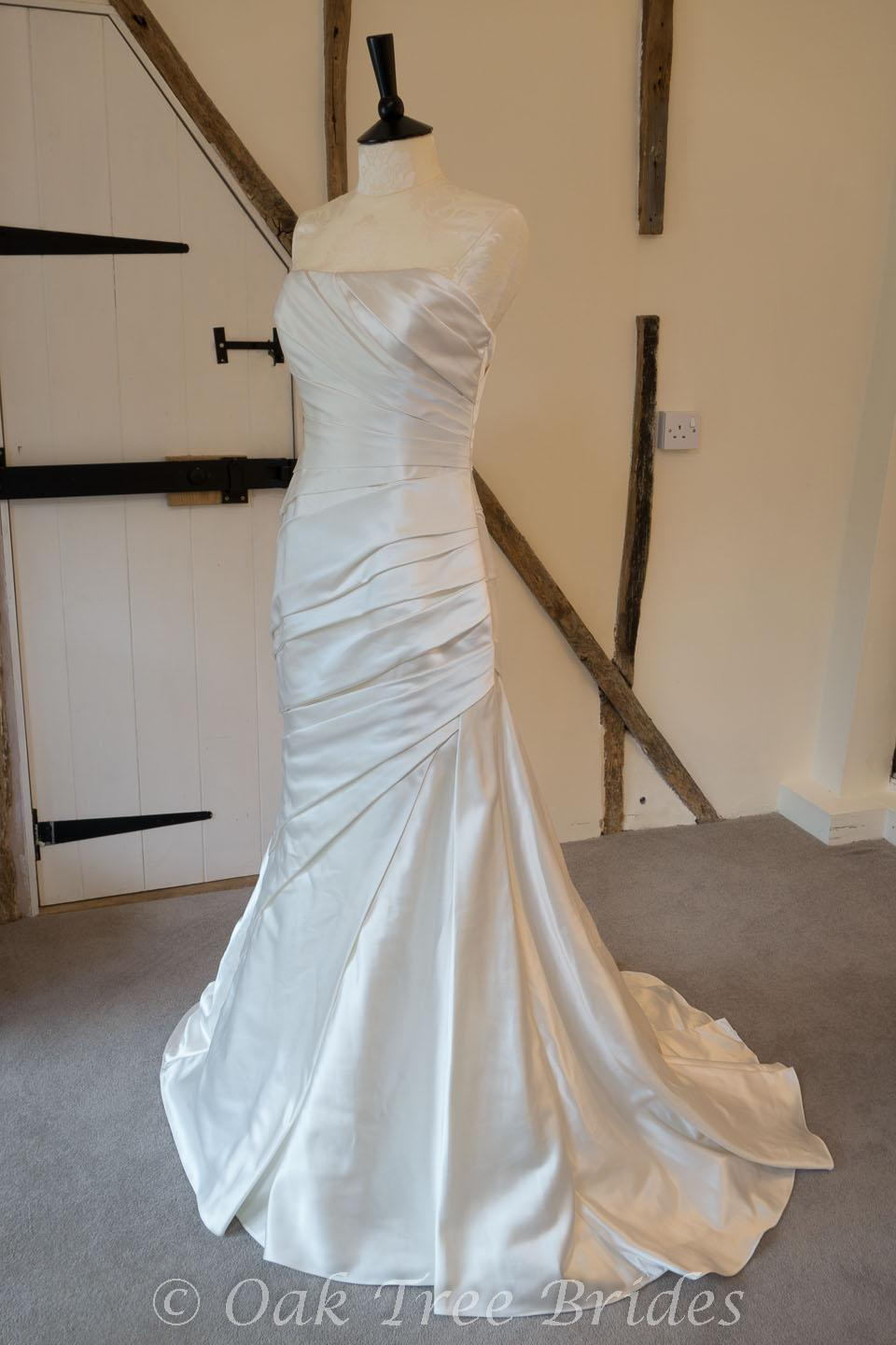 White One Tigris Designer Wedding Dress