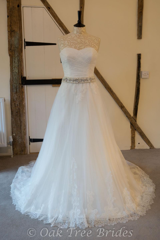 Ronald Joyce Priscilla 66003 Designer Wedding Dress   Oak Tree Brides