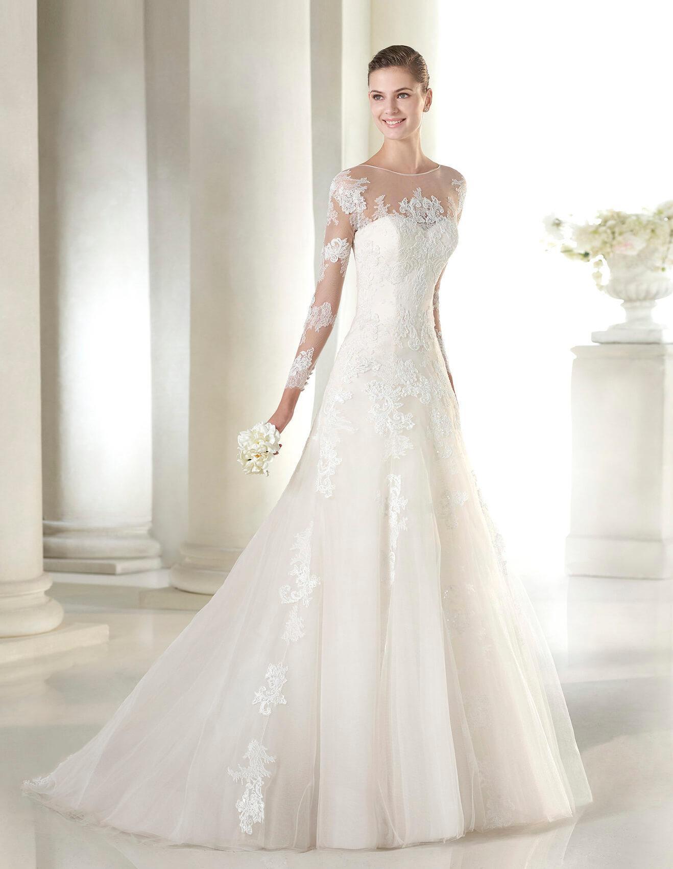 St patrick seattle designer wedding dress oak tree brides for Wedding dresses size 14