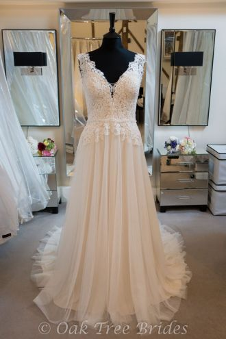Ella Rosa BE463 Designer Wedding Dress